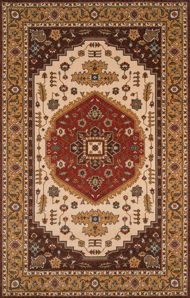 Momeni Persian Garden Pg-03 Cocoa 9'6″ x 13'0″ PERGAPG-03COO96D0