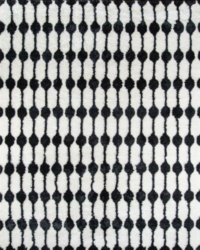 Novogratz Retro Ret-4 Modern Stockings Black 7'6″ x 9'6″ RETRORET-4BLK7696