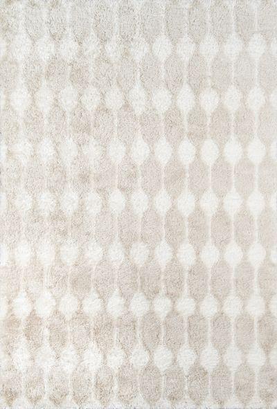 Novogratz Retro Ret-4 Modern Stockings Taupe 7'6″ x 9'6″ RETRORET-4TAU7696