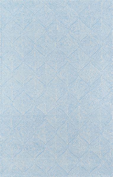 Madcap Cottage Roman Holiday Roh-1 Via Del Corso Light Blue 5'0″ x 8'0″ ROMNHROH-1LBL5080