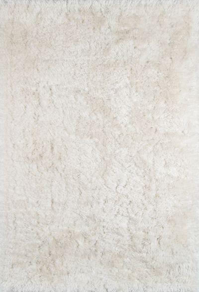Momeni Snow Shag Ss-01 White 5'0″ x 7'0″ SSHAGSS-01WHT5070