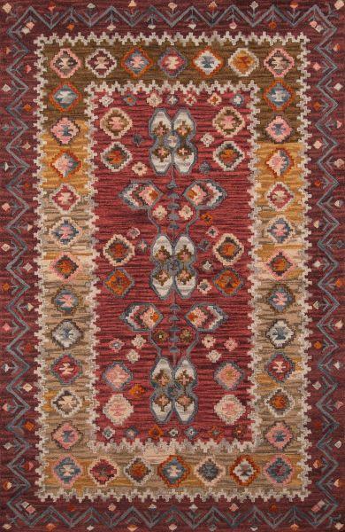 Momeni Tangier Tan-1 Red 3'6″ x 5'6″ TANGITAN-1RED3656
