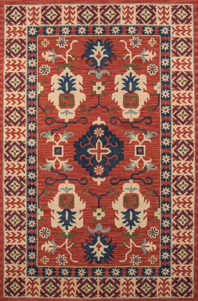Momeni Tangier Tan-3 Red 2'0″ x 3'0″ TANGITAN-3RED2030