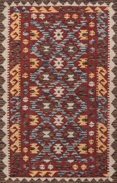 Momeni Tangier Tan-7 Red 5'0″ x 8'0″ TANGITAN-7RED5080