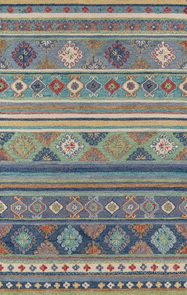 Momeni Tangier Tan32 Blue 3'6″ x 5'6″ TANGITAN32BLU3656