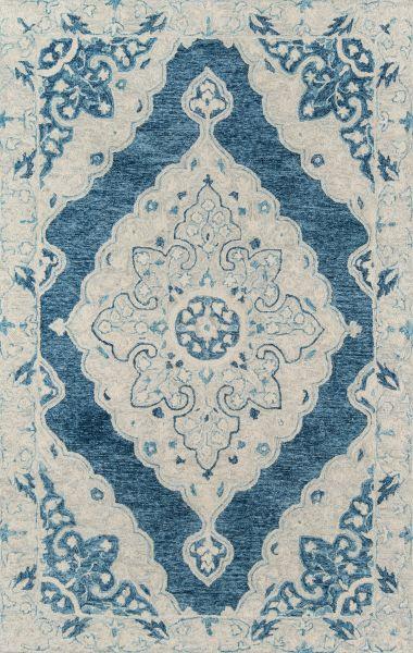 Momeni Tangier Tan36 Blue 2'0″ x 3'0″ TANGITAN36BLU2030