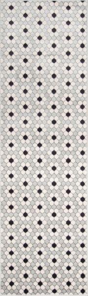 Novogratz Terrace Trc-1 Modern Hex Tile Grey 2'3″ x 7'6″ Runner TERACTRC-1GRY2376