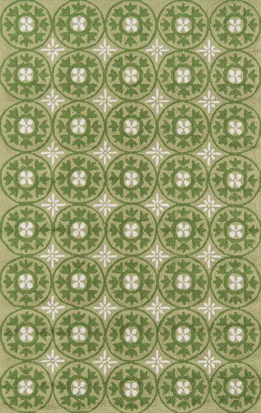 Momeni Veranda Vr-26 Grass 5'0″ x 8'0″ VERANVR-26GRS5080