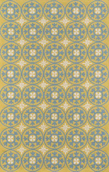 Momeni Veranda Vr-26 Yellow 5'0″ x 8'0″ VERANVR-26YEL5080