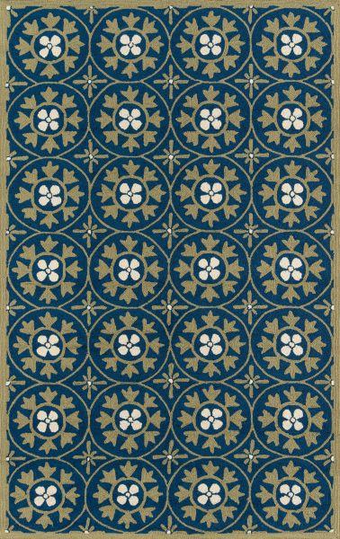 Momeni Veranda Vr-30 Blue 2'0″ x 3'0″ VERANVR-30BLU2030