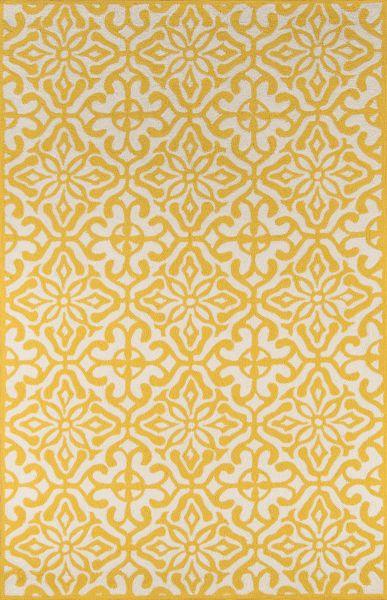 Momeni Veranda Vr-59 Yellow 5'0″ x 8'0″ VERANVR-59YEL5080