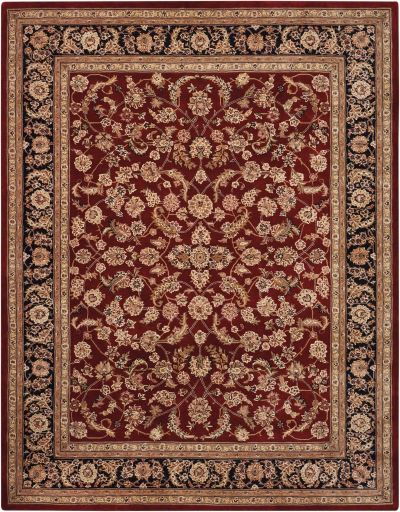 Nourison 2000 Traditional, Burgundy 8'6″ x 11'6″ 2002BRGNDY9X12