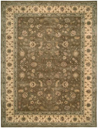 Nourison 2000 Traditional, Olive 2'6″ x 4'3″ 2003LV3X5