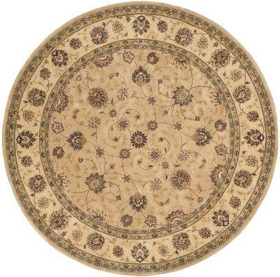 Nourison 2000 Traditional, Camel 8'0″ x 8'0″ Round 2071CMLROUND