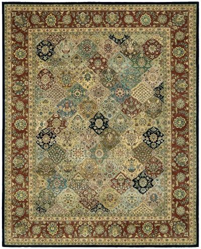 Nourison 2000 Traditional, Multicolor 8'6″ x 11'6″ 2101MLTCLR9X12