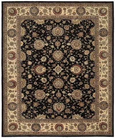 Nourison 2000 Traditional, Midnight 3'9″ x 5'9″ 2204MDNGHT4X6