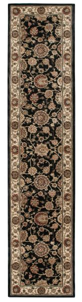 Nourison 2000 Traditional, Midnight 2'6″ x 12'0″ Runner 2204MDNGHTRUNNER