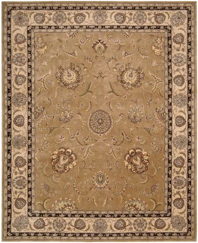 Nourison 2000 Traditional, Camel 3'9″ x 5'9″ 2206CML4X6