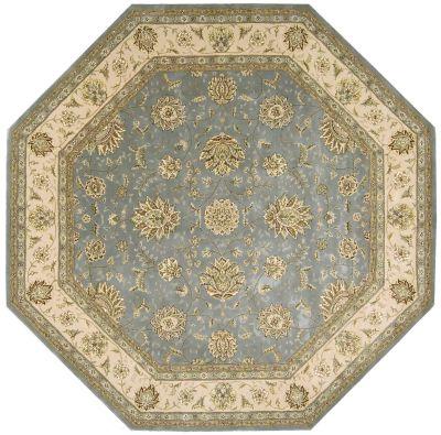 Nourison 2000 Traditional, Blue 10'0″ x 10'0″ Octagon 2210BL10X10