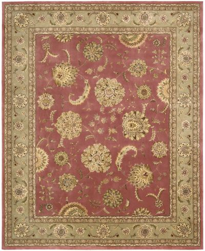 Nourison 2000 Traditional, Rose 9'9″ x 13'9″ 2215RS10X14