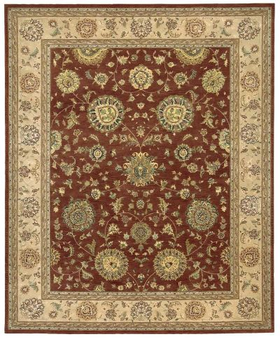 Nourison 2000 Traditional, Rust 3'9″ x 5'9″ 2258RST4X6