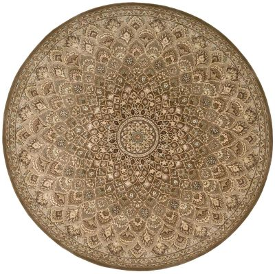 Nourison 2000 Traditional, Multicolor 8'0″ x 8'0″ Round 2262MLTCLRROUND