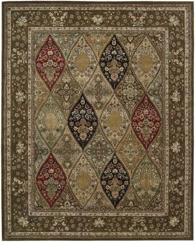 Nourison 2000 Traditional, Multicolor 7'9″ x 9'9″ 2292MLTCLR8X10