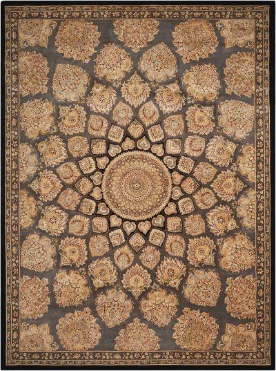 Nourison 2000 Traditional, Slate 2'6″ x 4'3″ 2318SLT3X5