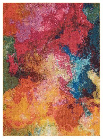 """Nourison Celestial Palette 7'10"""" x 10'6″ CES04PLTT8X10"""