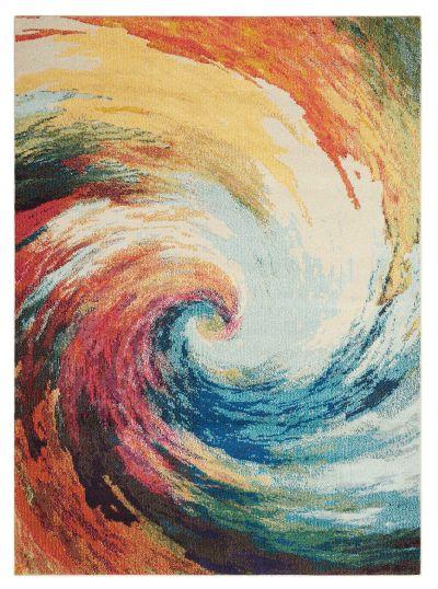 Nourison Celestial Wave 5'3″ x 7'3″ CES07WV5X8
