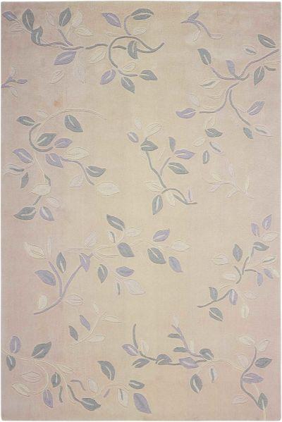 Nourison Contour Floral, Botanical Cream 5'0″ x 7'6″ CON03CRM5X8