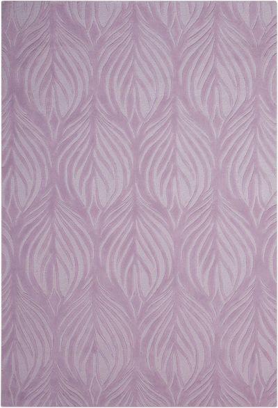 Nourison Contour Floral/Botanical, Lavender 5'0″ x 7'6″ CON06LVNDR5X8