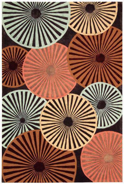 Nourison Contour Multicolor 5'0″ x 7'6″ CON26MLTCLR5X8