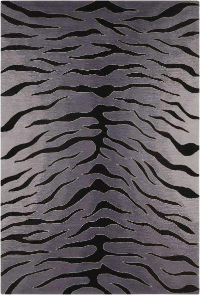 Nourison Contour Black/Grey 8'0″ x 10'6″ CON30BLCKGRY8X10