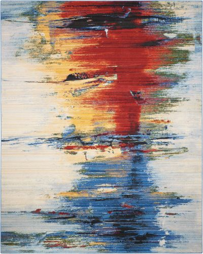 Nourison Chroma Crimson Tide 5'6″ x 8'0″ CRM05CRMSNTD5X8