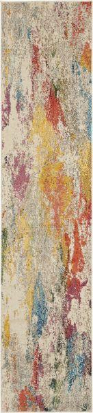 Nourison Celestial Ivory/Multicolor 2'2″ x 10'0″ CES12VRYMLTCLR10RUNNER