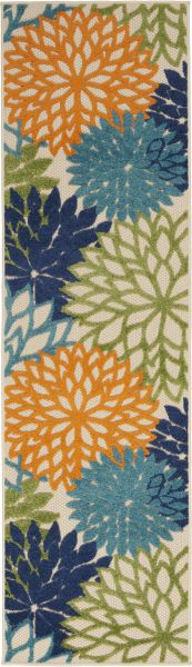 Nourison Aloha Contemporary Multicolor 2'3″ x 10'0″ Runner ALH05MLTCLR10RUNNER