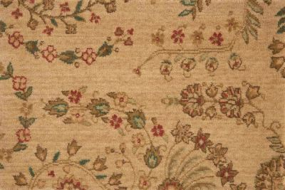 Grand Parterre Nourison  Sarouk Pt02 Brown Broadloom BEIGE 1-PT02BEIGEBR1309WV
