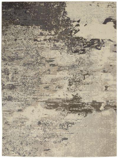 Nourison Celestial Ivory/Grey 6'7″ x 9'7″ CES02VRYGRY7X10