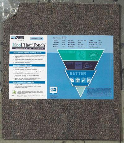 Shaw Floors Eco Edge Cushion Fibertouch 28-6 Grey 00001_312FT