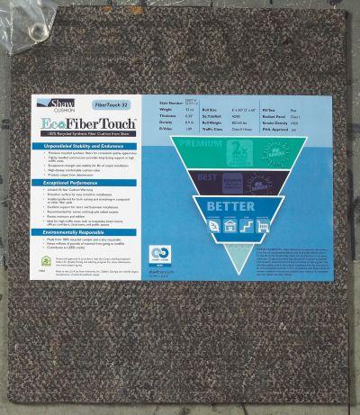 Philadelphia Commercial Eco Edge Cushion Fibertouch 32-12 Grey 00001_341FT