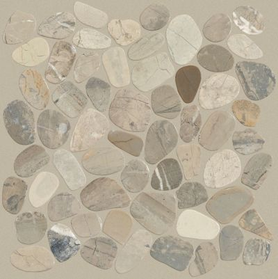 Shaw Floors Ceramic Solutions Pebble Sliced Vitality Mica 00155_CS13L