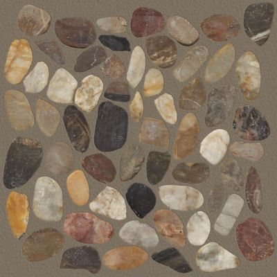 Shaw Floors Ceramic Solutions Pebble Sliced Rio Blend 00700_CS13L