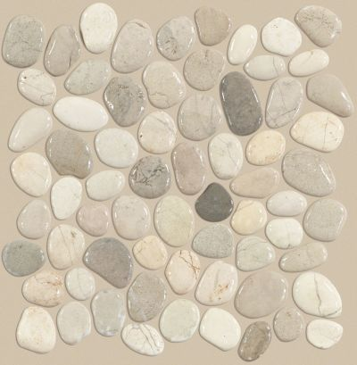 Shaw Floors Ceramic Solutions Pebble Honed Harmony Warm Blend 00125_CS16L