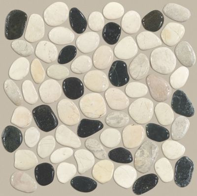 Shaw Floors Ceramic Solutions Pebble Honed Tranquil Cool Blend 00159_CS16L