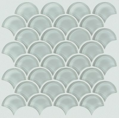 Shaw Floors Ceramic Solutions Cardinal Fan Glass Mosaic Shadow 00550_CS16Z
