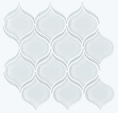 Shaw Floors Ceramic Solutions Cardinal Lantern Glass Mosaic Ice 00100_CS17Z