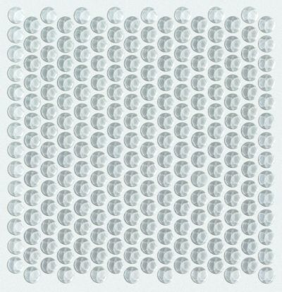 Shaw Floors Ceramic Solutions Cardinal Penny Round Glass Mos Cloud 00500_CS18Z