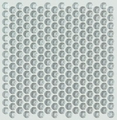 Shaw Floors Ceramic Solutions Cardinal Penny Round Glass Mos Shadow 00550_CS18Z