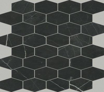 Shaw Floors Ceramic Solutions Chateau Stretch Nero Marquina 00900_CS19X